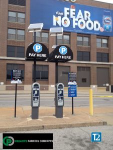 Cardinal Lot St. Louis - T2 Payment Stations